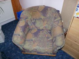 Foto 5 Gebrauchte Couchgarnitur mit Sessel zu verkaufen