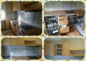 Foto 2 Gebrauchte Küchenzeile für Selbstabholer / IKEA Faktum-Nexus Birkenfurnier