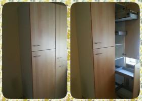 Foto 3 Gebrauchte Küchenzeile für Selbstabholer / IKEA Faktum-Nexus Birkenfurnier