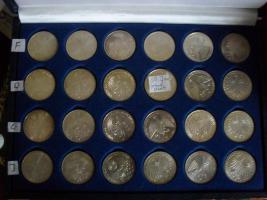 Foto 3 Gedenkmünzen 10 DM und 5 DM