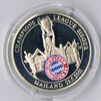 Gedenkprägung FC BAYERN MÜNCHEN '' 2001 '' ! !