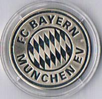Foto 2 Gedenkprägung FC BAYERN MÜNCHEN '' 2001 '' ! !