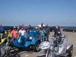Geführte Trike-Touren durch Friesland , Ostfriesland, Nordseeküste