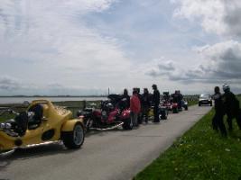 Foto 2 Geführte Trike-Touren durch Friesland , Ostfriesland, Nordseeküste