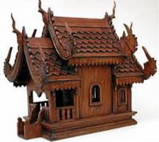 Geisterhäuser für Garten und Haus