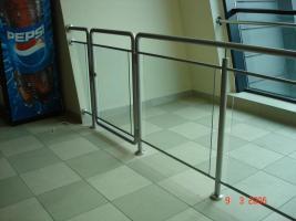 Absturzsicherung Geländer geländer absturzsicherung edelstahl balkongeländer handlauf in