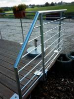 Foto 2 Geländer aus Aluminium