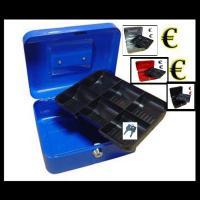Geldkassette Münzkassette Geldkasse €uro Kasse Safe in 4 Farben erhältlich