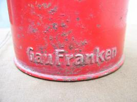 Geldsammeldose Gau Franken