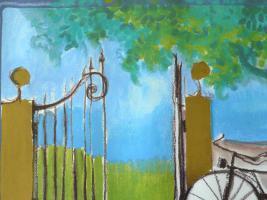 Foto 2 Gemälde Grafik Bild Wachtmeister Rosina (B035)