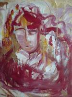 Gemälde aus der Serie Götter, Engel und Madonnen