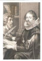 Gemälde in Tusche, nach Rubens um 1899 gemalt: