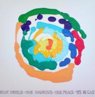 Gemälde, Acryl auf Leinwand, abstrakt