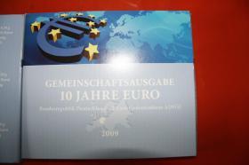 Foto 2 Gemeinschaftsausgabe 10 Jahre EURO 2009 in Vollvergoldung