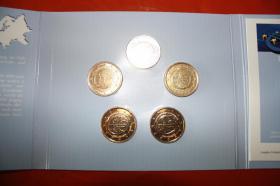 Foto 3 Gemeinschaftsausgabe 10 Jahre EURO 2009 in Vollvergoldung