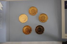 Gemeinschaftsausgabe ''10 Jahre EURO '' 24 Karat