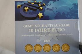 Foto 3 Gemeinschaftsausgabe ''10 Jahre EURO '' 24 Karat