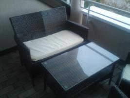 Foto 2 Gemütliches Gartenmöbel aus Rattan