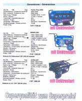 Foto 7 Generatoren-Stromerzeuger; klein-gross f�r Haus, Hof, Werkstatt