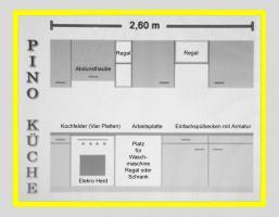 Gepflege Pino Küche für nur Euro 400