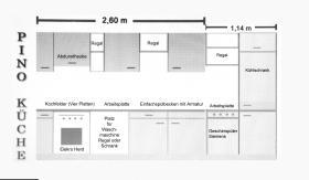 Foto 3 Gepflege Pino Küche für nur Euro 400