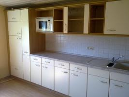 Gepflegte Einbauküche mit Elektrogeräten!