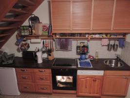 Gepflegte Küchenzeile mit Elektrogeräte zu verkaufen