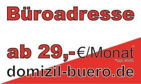 Geschäftsadresse, Firmensitz, virtuelles Büro, Büroservice, virtual Office in Leipzig / Berlin / Halle ab 29 €/Monat*