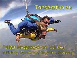 Foto 2 Geschenkidee! Fallschirmspringen bei Tandemfun in Klatovy, Dingolfing, Zell am See, Fromberg
