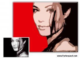 Geschenkidee: Portraits im Retro-oder Pop-Art Stil