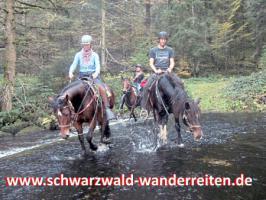Foto 63 Geschenkidee für Reiter, Wanderreiter, Freizeitreiter - Wanderitt ab Todtmoos Au