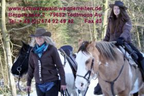 Foto 78 Geschenkidee für Reiter, Wanderreiter, Freizeitreiter - Wanderitt ab Todtmoos Au