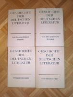 Foto 2 Geschichte der deutschen Literatur 4x