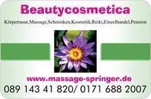 Gesichtspflege, Schminken, Cellulite-Behandlung, Massagen, Intimrasuren, München/Deutschland
