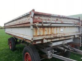 Foto 2 Gesucht: Anhänger Kipper Fortschritt HL 60/80 HW 60/80 IFA THK landwirtschaftlicher Seitenkipper Traktor Traktoranhänger Landwirtschaft Agrar