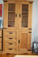 Foto 4 Gewachste Pinienholzmöbel ( Anrichte, Sideboard und Vitrine )