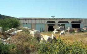 Gewerbehalle nahe Napflion/Griechenland