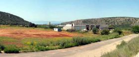 Gewerbehalle nahe Napflion / Griechenland