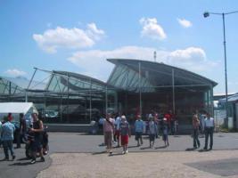 Foto 2 Gewerbehalle, Halle, Mehrzweckhalle, Stahlhalle, Ausstellungshalle, Eventhalle, Stahlkonstruktion, Pavillon