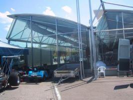 Foto 3 Gewerbehalle, Halle, Mehrzweckhalle, Stahlhalle, Ausstellungshalle, Eventhalle, Stahlkonstruktion, Pavillon