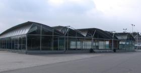 Foto 4 Gewerbehalle, Halle, Mehrzweckhalle, Stahlhalle, Ausstellungshalle, Eventhalle, Stahlkonstruktion, Pavillon
