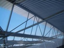 Foto 5 Gewerbehalle, Halle, Mehrzweckhalle, Stahlhalle, Ausstellungshalle, Eventhalle, Stahlkonstruktion, Pavillon