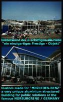 Foto 6 Gewerbehalle, Halle, Mehrzweckhalle, Stahlhalle, Ausstellungshalle, Eventhalle, Stahlkonstruktion, Pavillon