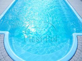 Foto 3 Gfk Schwimmbecken, Fertigbecken 5,00x3,00x1,50 komplett