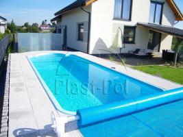 Gfk Schwimmbecken, Pool, verschiedene Größe, komplett