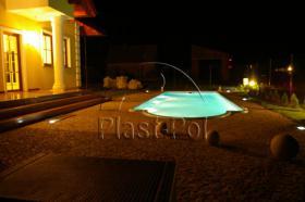Foto 4 Gfk Schwimmbecken, Swimming Pool, Einbaubecken 7,20x2,80 Fertigpool, SET