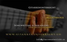 Gitarrenunterricht, Gitarrenlehrer www.gitarrenunterricht.co