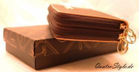 Foto 4 Giulia Pieralli Damen Geldbeutel mit umlaufendem Reißverschluss Portemonnaie Damen Geldbörse