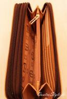 Foto 6 Giulia Pieralli Damen Geldbeutel mit umlaufendem Reißverschluss Portemonnaie Damen Geldbörse