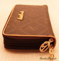 Foto 7 Giulia Pieralli Damen Geldbeutel mit umlaufendem Reißverschluss Portemonnaie Damen Geldbörse